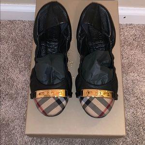 Authentic Burberry Ballerina Shoe